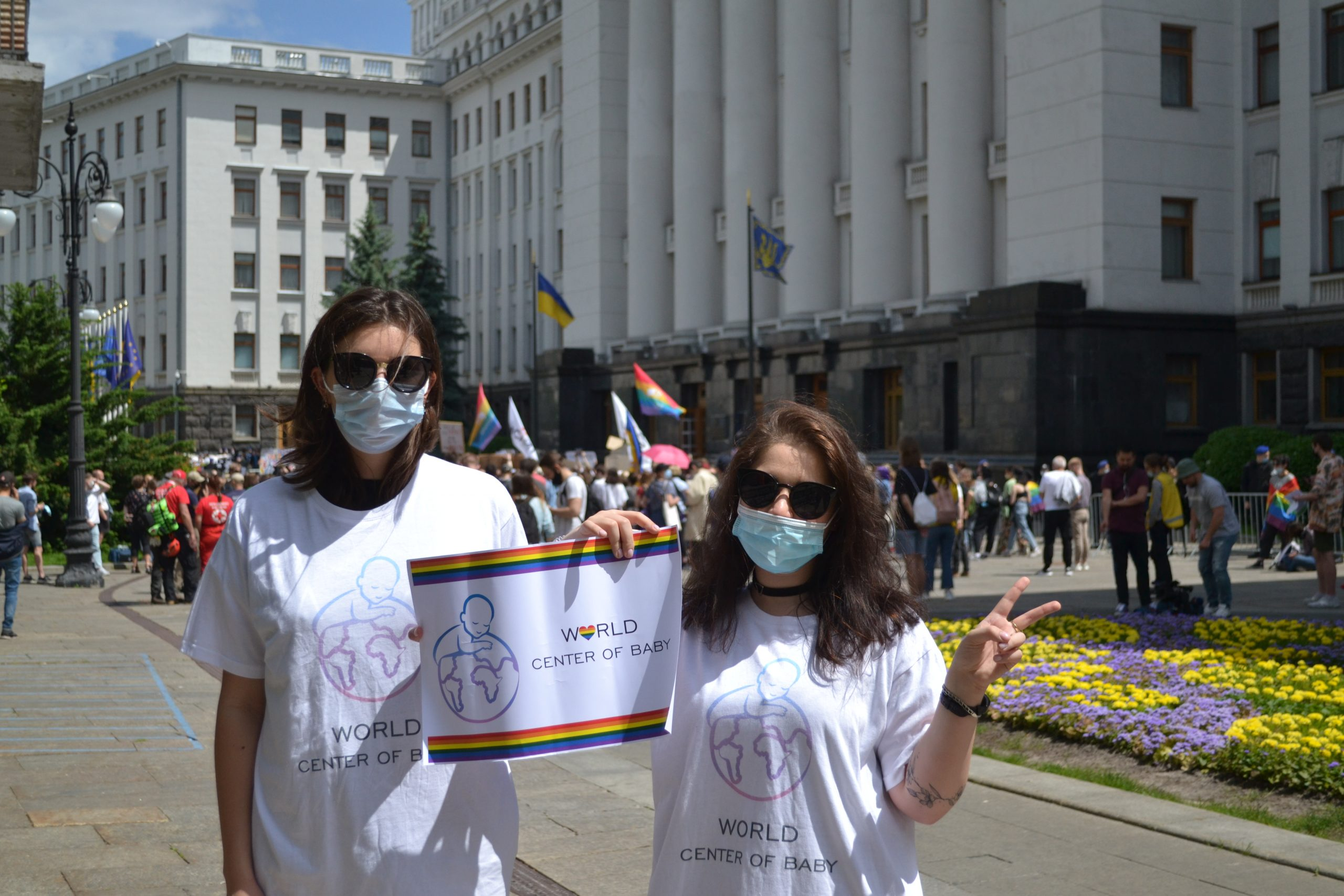 Same-Sex Equality Rally in Kyiv: Demands for Rights